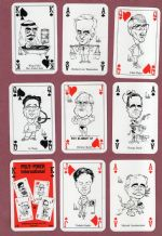 Collectible playing cards  Polit-poker International 1992